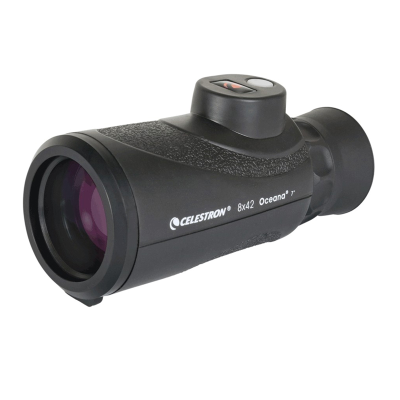 Celestron Oceana 8x42 Monocular Built in compass ranging Fully Multi Coated single barrel