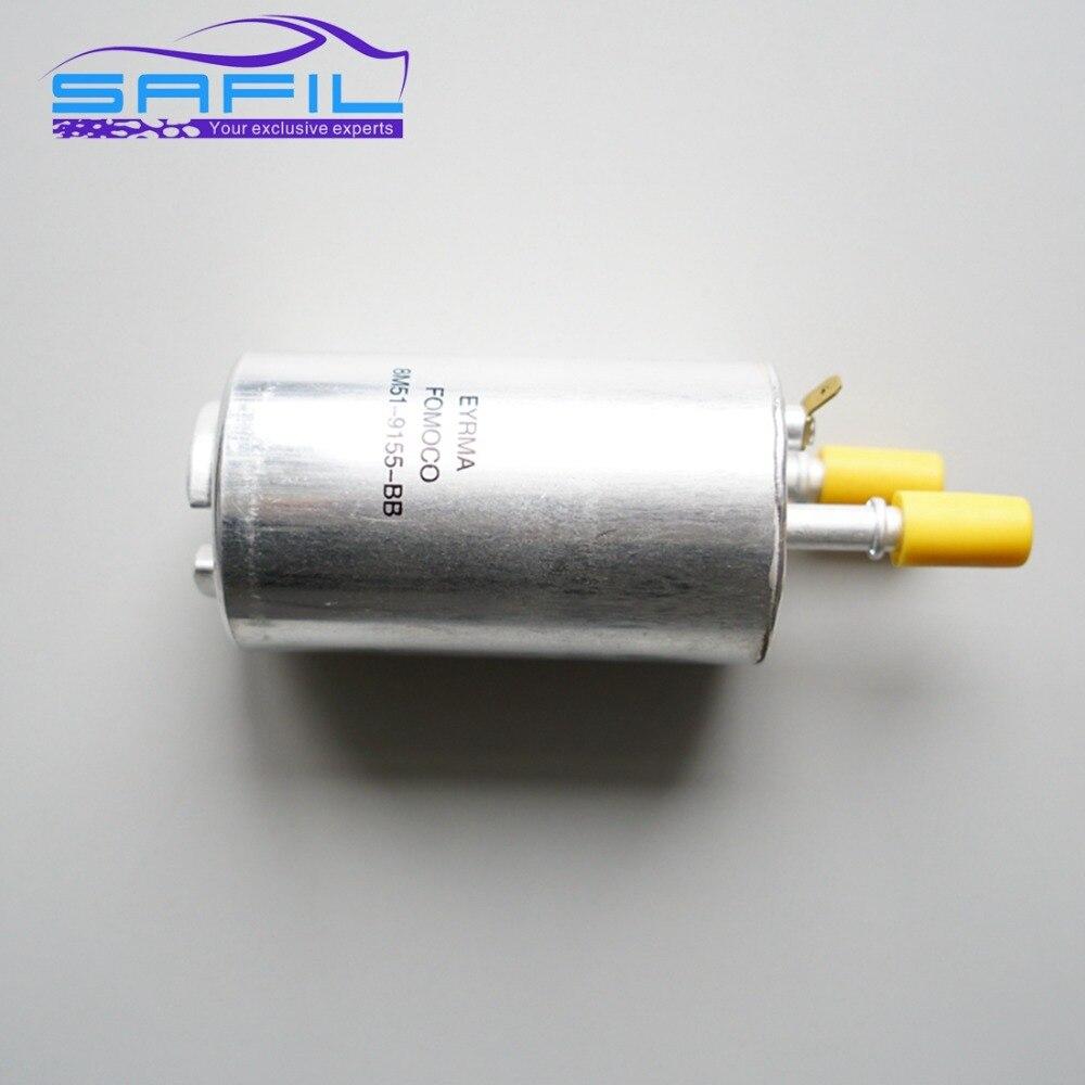 medium resolution of fuel filter for ford focus escape 2010 2013 mondeo s max 2007 for volvo s80 s80l xc60 oem 6g9n 9155 bb sq31