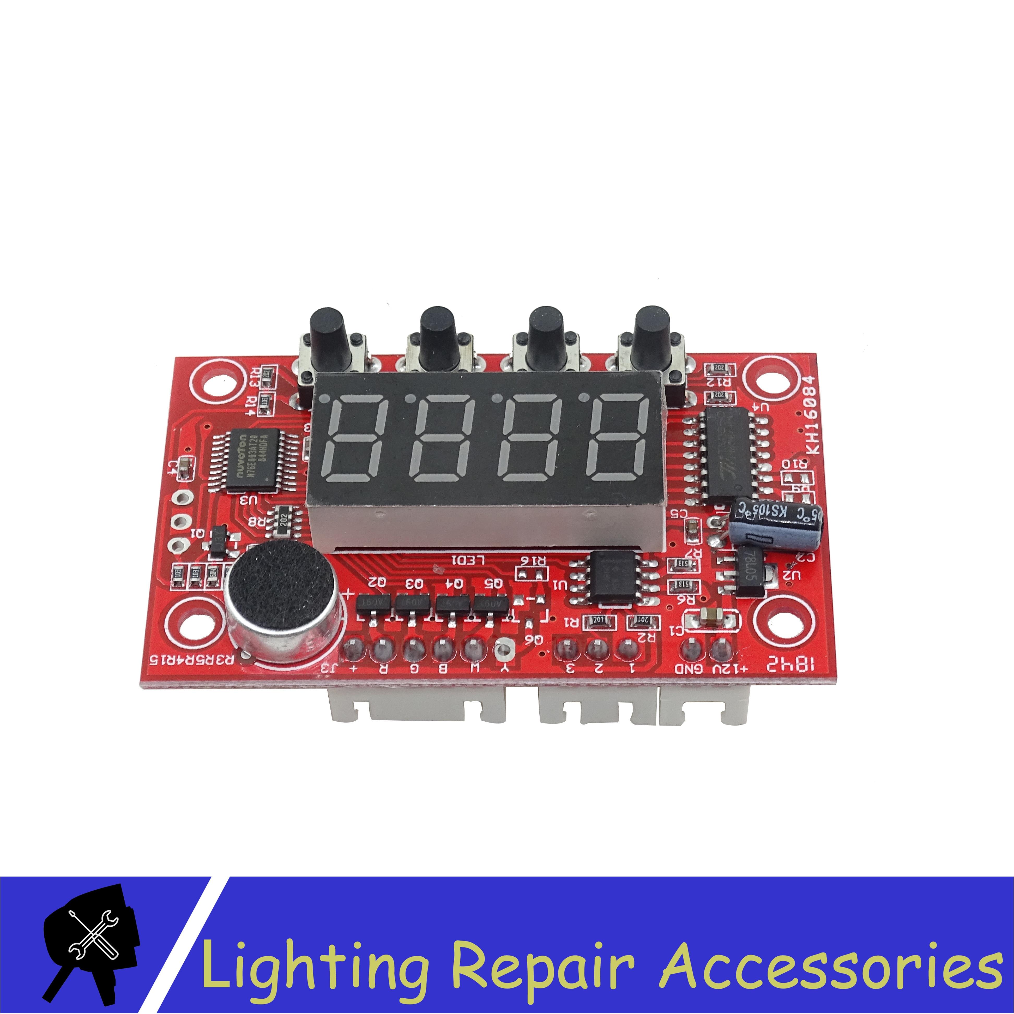 Mini Led Par light mother board use for 12x3w RGBW 12x3w 3in1 RGB 3in1 Mini Cob 3x10w 5x10w Repair spare parts