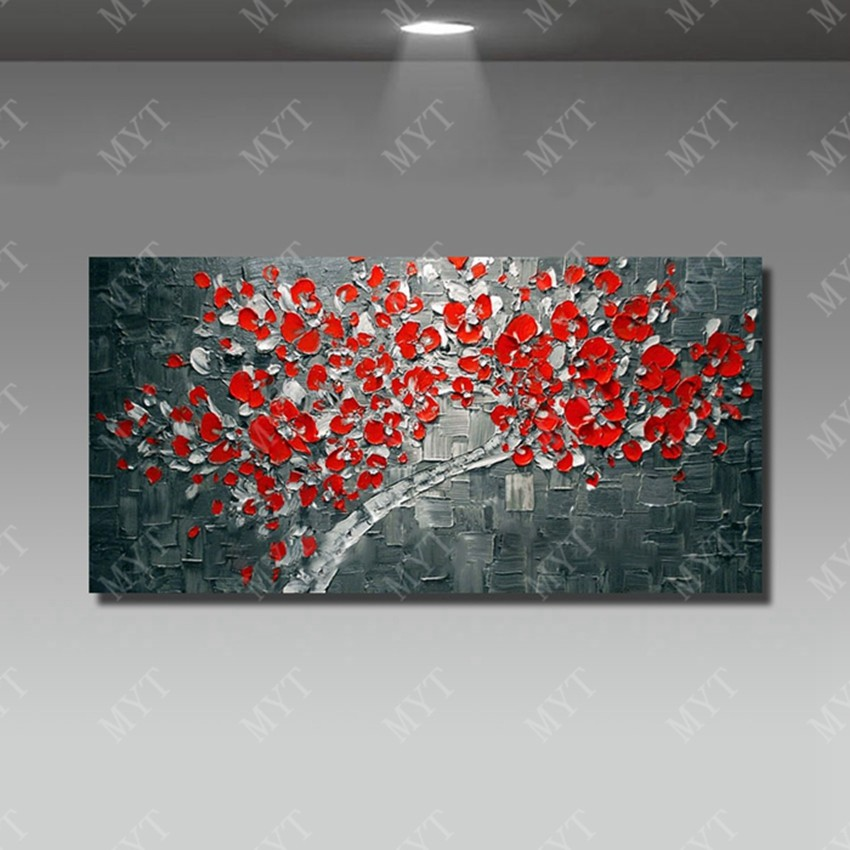 DHH0015 -1-100-hand-painted-art-abstract-oil-painting-palette-knife-the-modern-home-on-the-canvas-decoration (15)