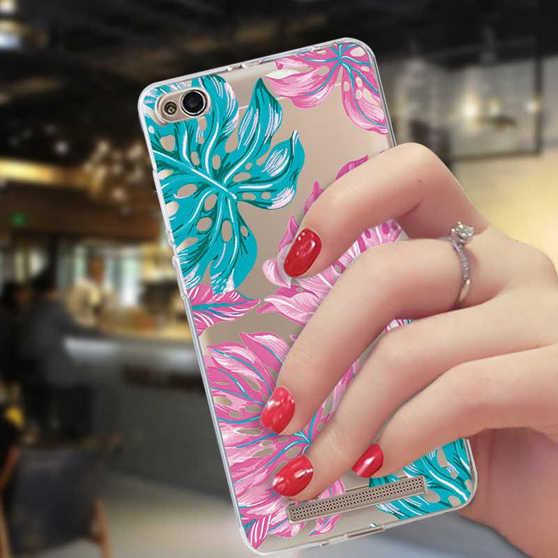 Étui d'impression transparent pour Xiao mi A2 Lite 8 9 coque en silicone rouge mi Note 5 6 7 Pro 6A Pocophone F1 mi A1 6X 5X motif couverture arrière