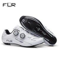 FLR шоссейная велосипедная обувь гоночная обувь Professional шоссейный велосипед SPD углеродное волокно шоссейная велосипедная обувь спортивная о
