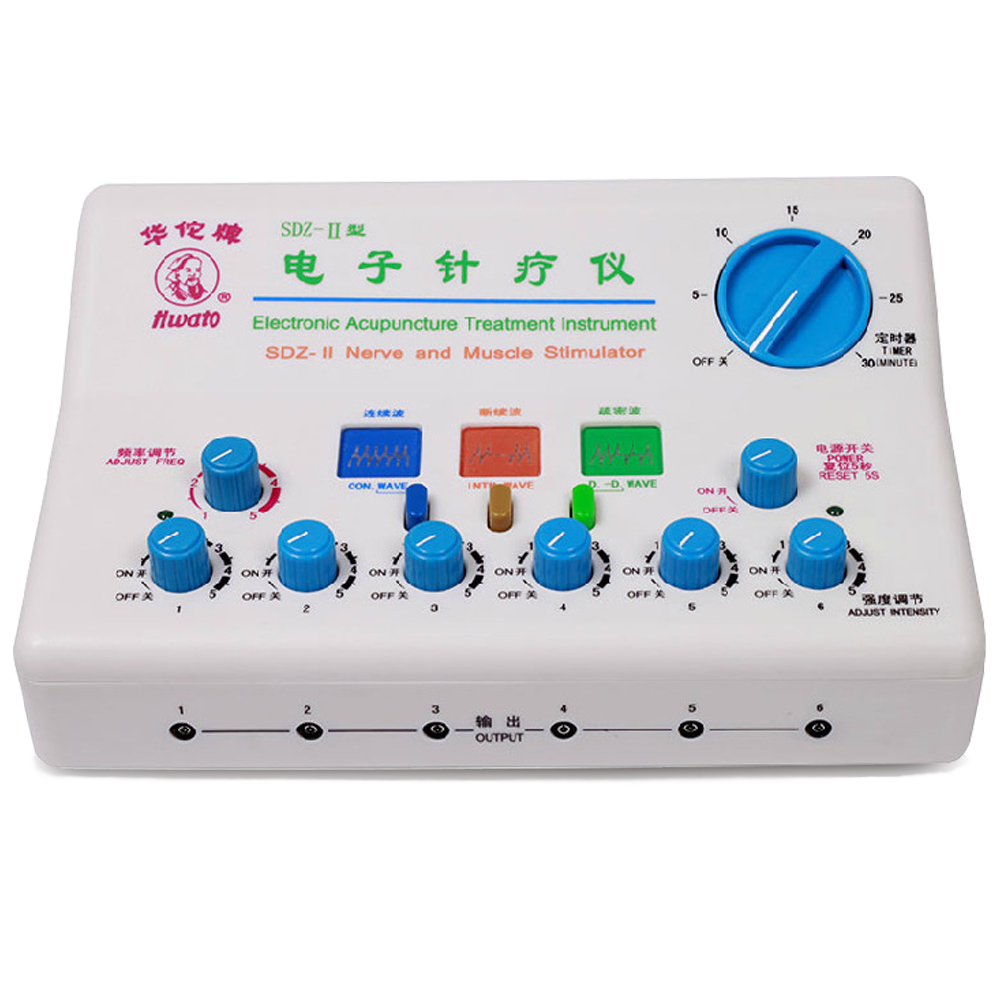SDZ-II Electronic Acupuncture Treatment Instrument Nerve and Muscule Stimulator Electro Acupuncture Massage Device Health Care hwato computer random pulse acupuncture treatment instrument smy 10a nerve and muscle stimulator tens 10 channels output ce appr
