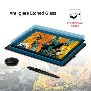 Image 5 - HUION Kamvas פרו 12 GT 116 עט Tablet צג אמנות גרפיקה ציור עט תצוגת צג עם משלוח מתנה Gl