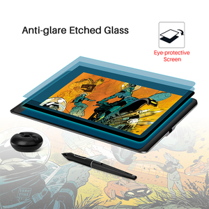 Image 5 - HUION Kamvas Pro 12 GT 116 Pen Tablet Monitor Art Graphics Drawing Pen Display Monitor with  Free Gift Gl