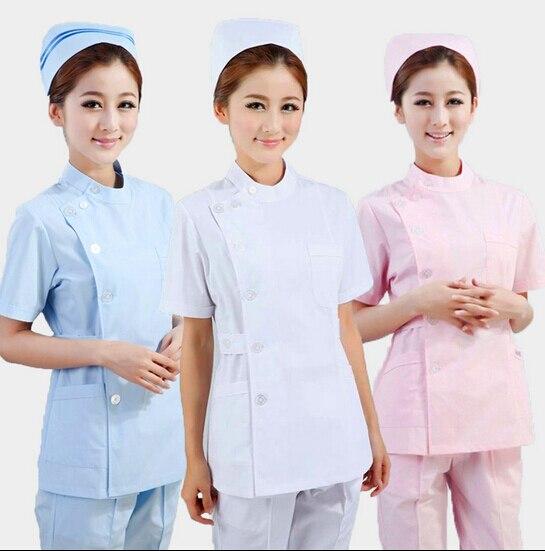 reputable site a61da 95393 US $27.0 |2017 krankenhaus Frau Krankenschwester uniform Pet Krankenhaus  Sommer Krankenschwester Arbeitskleidung-in Krankenschwestern-Uniform aus ...