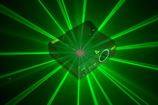 50mW Moving Stage Lights Green Beam Scanning Lasers Event Lighting Equipment