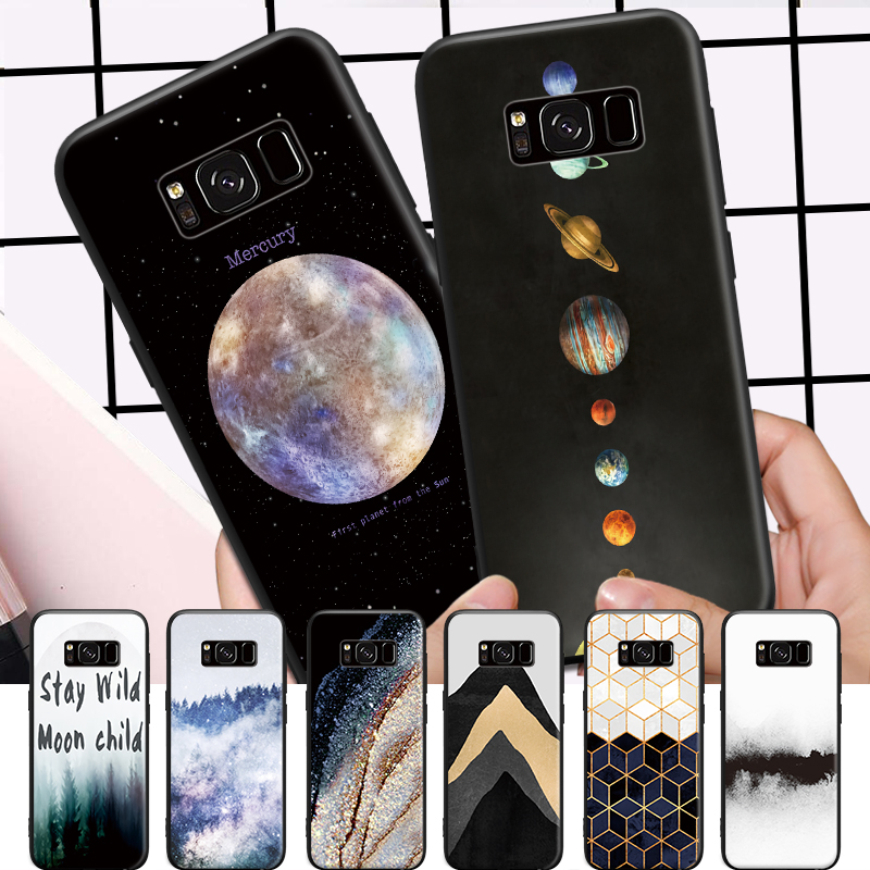 Mountain Forest Illusion Moon Star Pattern For Xiaomi A1 5x Redmi 4a 4x 5 Plus Huawei Honor 6x 7x P8 P9 P10 P20 Lite Hard Phone Pleasant To The Palate Phone Bumper Cellphones & Telecommunications