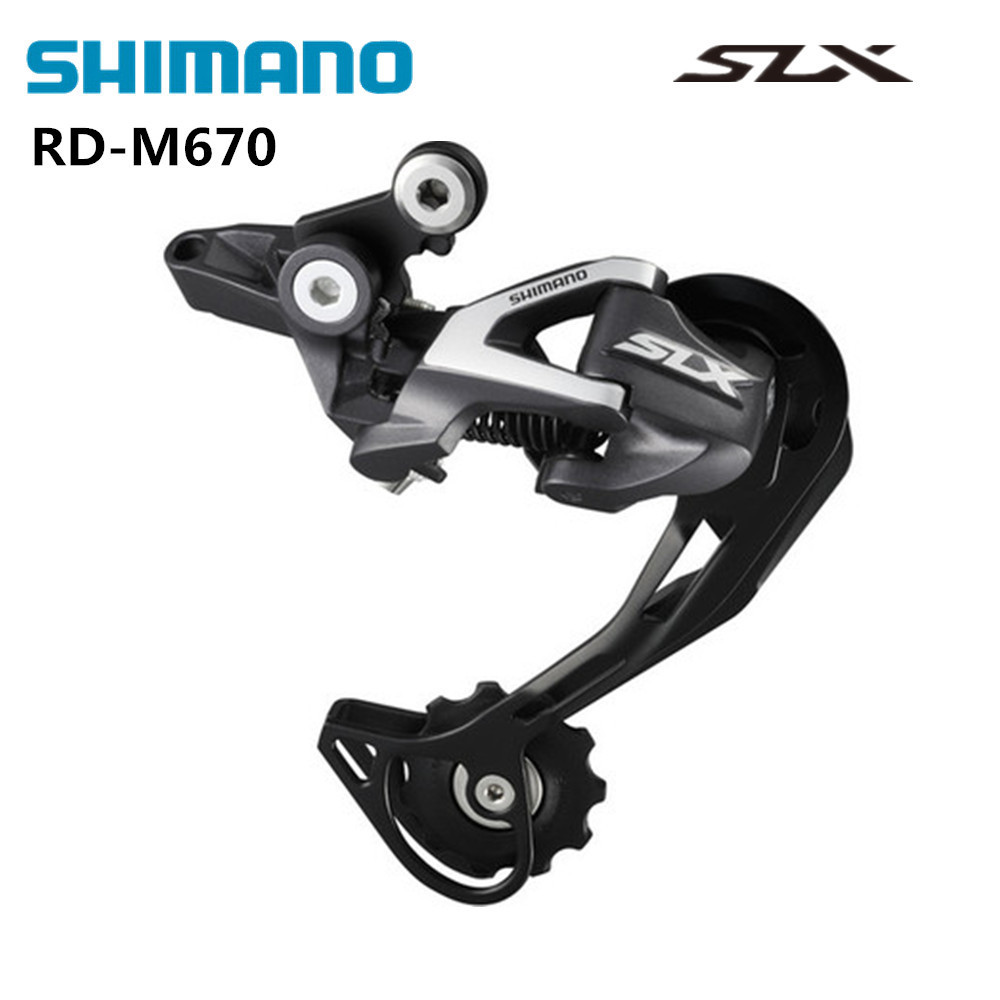 shimano SLX RD-M670 Rear Derailleur 10s MTB bicycle bike derailleurs M670 mid long cage запчасть shimano slx m670 b i islm670bipa