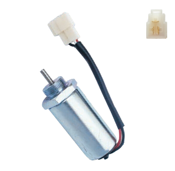 Stop solenoid 8973295680 for for 4LE1,4LE2 Engine 12v stop solenoid 1j710 60011 12v for engine v2607