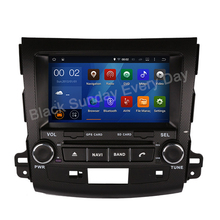 "NEW Car Styling 1024*600 Quad Core 16G 8 ""Android Puro 5.1.1 coches Reproductor de DVD para MITSUBISHI Outlander Navegación GPS DVD RADIO"