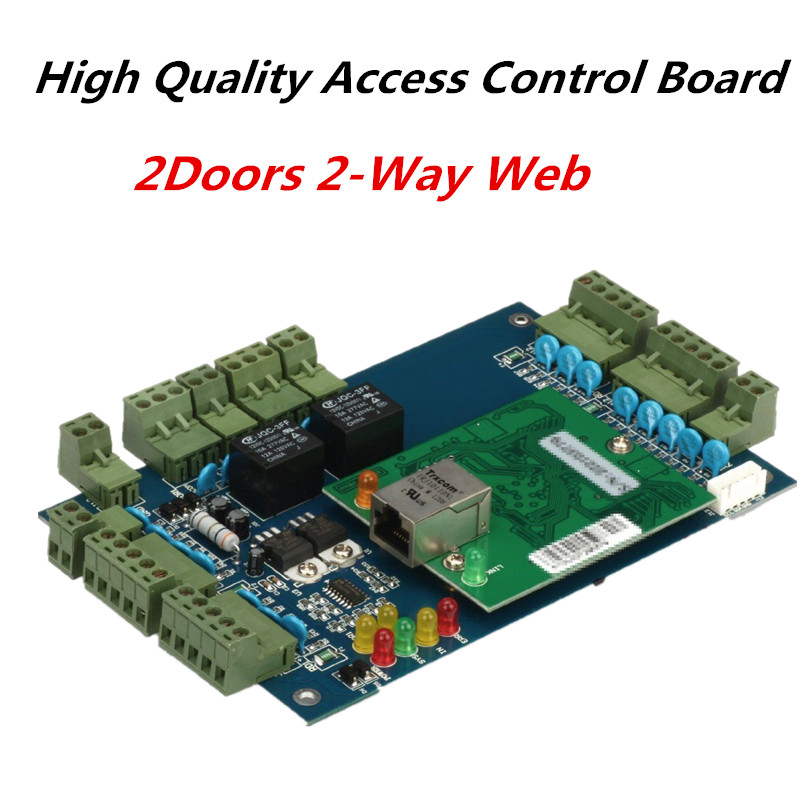 TCP/IP Wiegand Access Control Board RFID Card Door Access Controller + Free Access Control System