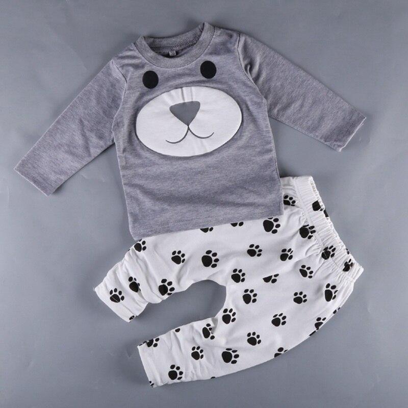 2018 גיל 0-2 שנה תינוק ילד בגדי bebe בני בגדי סט, קטן תינוק Infantil תינוק בגדי תינוקות בני עדין ילד סט C8261