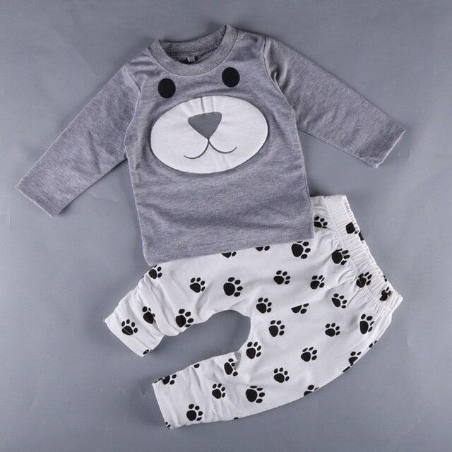 da87a327f6 2019 ano de idade 0-2 Bebê menino roupas bebe meninos roupas estabelecidos