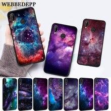WEBBEDEPP interstellar Purple Space Star Silicone Case for Huawei P8 Lite 2015 2017 P9 2016 Mimi P10 P20 Pro P Smart 2019 P30 цена 2017
