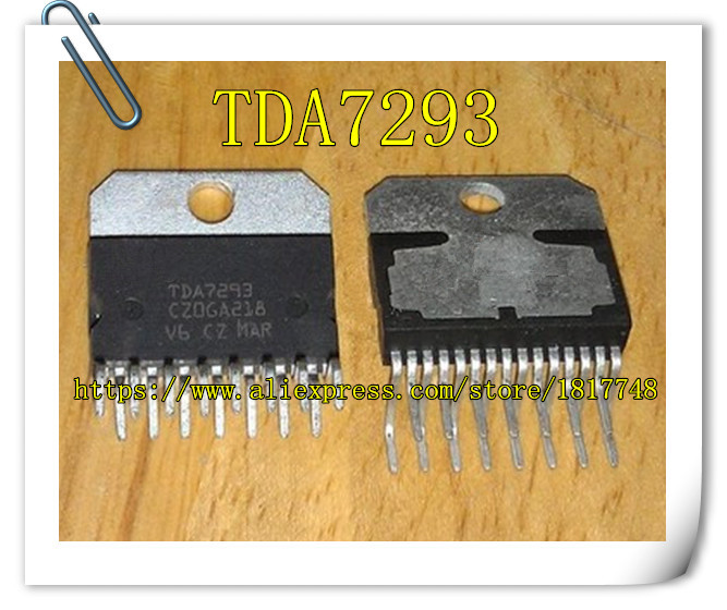 Free Shipping!  10PCS TDA7293 7293 ZIP15 New Original  High Power Amplifier Chip