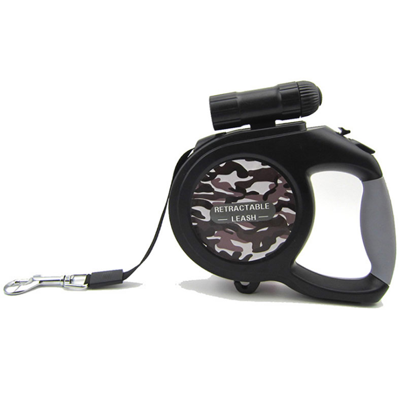 5/8m LED Dog Traction Rope Dog Automatic Retractable Leash for Small Medium Dogs Hot Sale