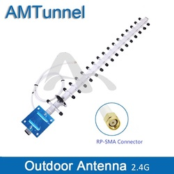 2.4G WiFi antenna 2.4G outdoor antenna  18dBi router antenna external antenna with RP-SMA for router fixed wireless terminal