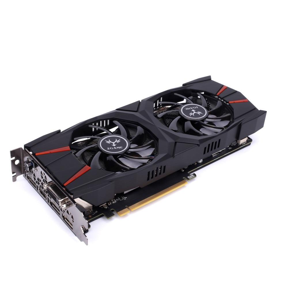 iGame GTX 1060 Vulcan U 6GB Video Graphics Card 192bit GDDR vg 86m06 006 gpu for acer aspire 6530g notebook pc graphics card ati hd3650 video card