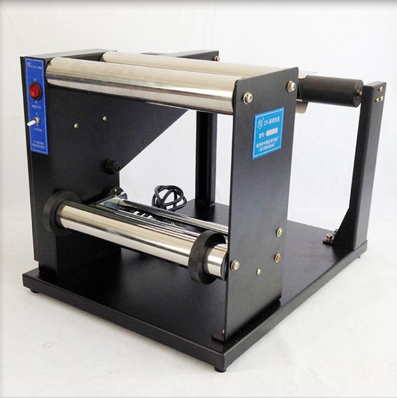RU EU free tax  220V laundry label rewind machine heightening widening rewinding machine ru eu no tax automatic lt 60 plane self adhesive label machine