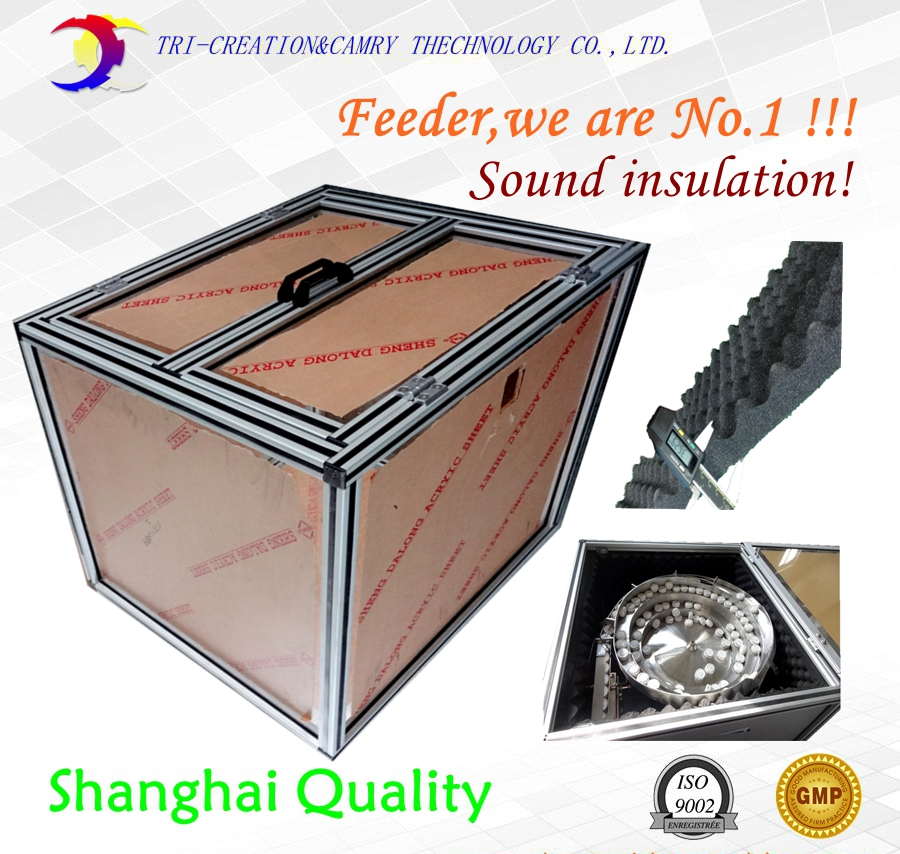 soundproof enclosure for bowl feeder,enclosure box for feeder,500mm customiable brand new smt yamaha feeder ft 8 2mm feeder used in pick and place machine