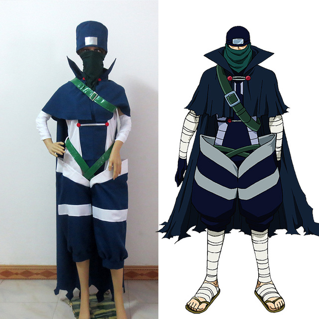 Fairy Tail Mystogan Cosplay Costume Custom-made Free Shipping