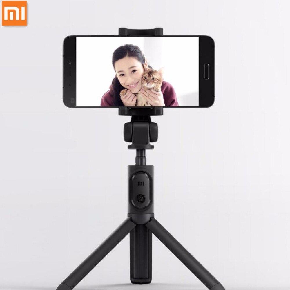 Original Xiaomi Mi Tripod Selfie Stick+Bluetooth 3.0 Shutter Remote 360 Rotation Lightweight Foldable for Smart Android 4.3 IOS5