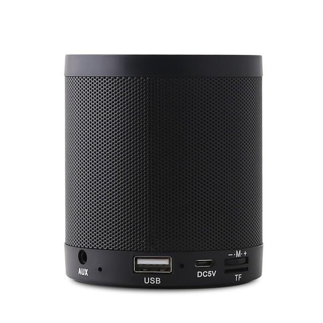 Mini Enceinte Altavoz Bluetooth TF Tarjeta de Reproductor de MP3 Portátil de Altavoces Inalámbricos Bluetooth V4.0 Activo Music Box