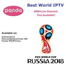 7 dias de Teste IPTV Caixa de TV Android V9S + Turquia Árabe Francês Itália Alemanha REINO UNIDO América Latina Espanha Suécia Polónia etiópia