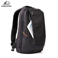 Kingsons Candy Black Laptop Backpack Man Daily Rucksack Travel Bag School Bags 15 6 Inch Women