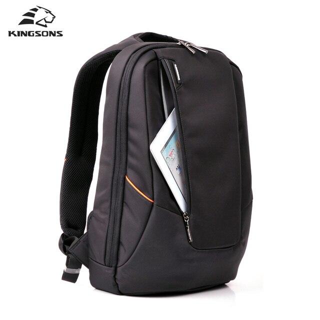 01d5d6bf6942 Kingsons Waterproof Men Women Backpack Business Travel Backpack Black Male Backpack  Large Laptop Computer Backpack 15.6 inches