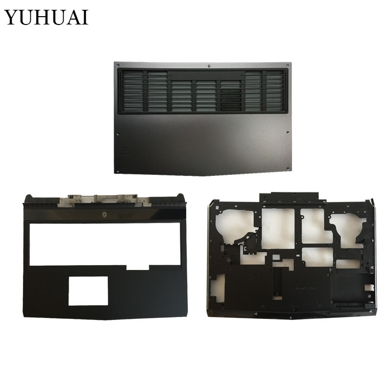 US $45 59 6% OFF|NEW laptop cover for DELL alienware 17 R4 Palmrest  Upper/bottom case cover/Bottom door case cover 0D81K5 0X2J1T 08G7X7-in  Laptop Bags