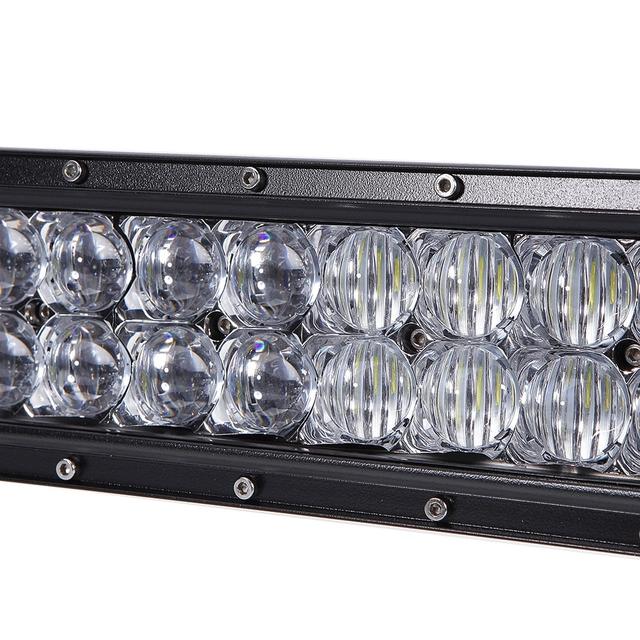 400W 5D Automobile Arc Lamp Vehicle LED Lighting Bar 80pcs x 5W Intense LEDs About 30000 Hours Life Time Cold White 6000K