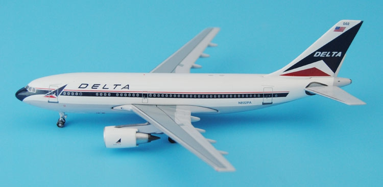 Special offer Aeroclassics 1: 400 American Delta Airways A310-200 N802PA Alloy aircraft model Collection model Holiday gifts fine phoenix 1 400 11198 thai airways b787 8 hs tqb alloy aircraft model collection model holiday gifts
