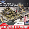 XINGBAO 06015 Genuine 1386Pcs Military Series The Scorpio Tiger Tank Set Building Blocks Bricks Toys Educational