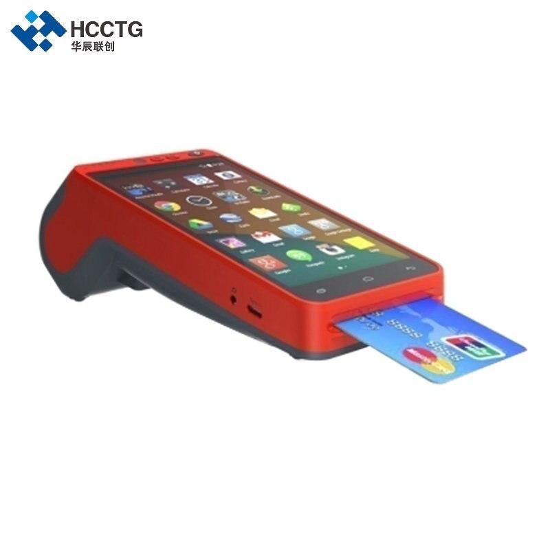 5.5 pouces 3G/4G/WIFI NFC écran tactile portable empreinte digitale Edc Terminal Android avec imprimante HCC-Z100 - 4