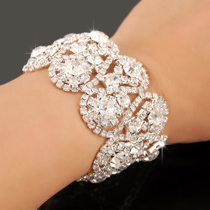 Pictures Of Charm Bracelets: New Arrival!!2013 Christmal Gift Fashion CZ Diamond