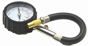 Image 5 - אוניברסלי אוטומטי רכב אוויר צמיג לחץ Inflator מד רכב משאית אופנוע גמיש צינור לחץ מד חיוג מד הרכב Tester