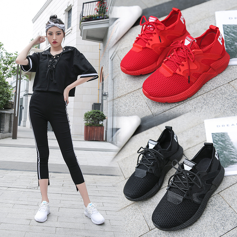Detail Feedback Questions about 2018 Fashion Trainers Sneakers Women Casual  Shoes Air Mesh Grils Wedges Canvas Shoes Woman Tenis Feminino Running  fitness on ... cc95915f6dca