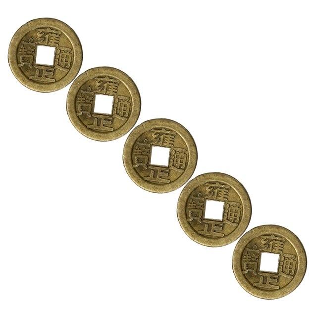 Traditionellen China Glück Münzen Orientalischen Kaiser Qing