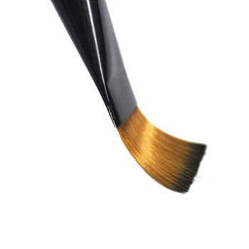 Pack of 6 Art Brown Nylon Paint Brushes for Acrylic  10.11