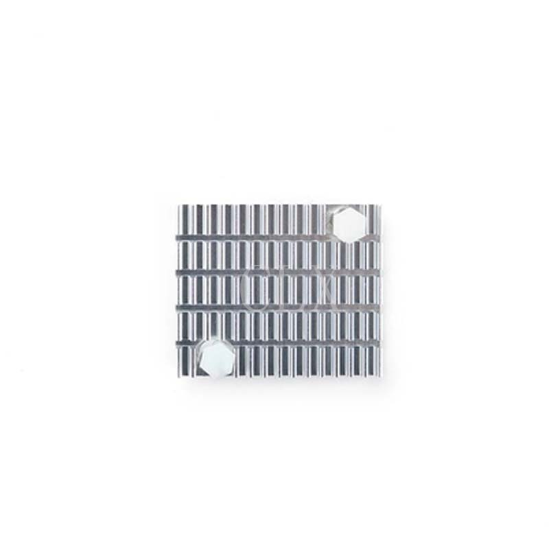 High Quality Aluminum Heatsink With Earhole, Suitable For Nanopi Fire2a/fire3/k1 Plus