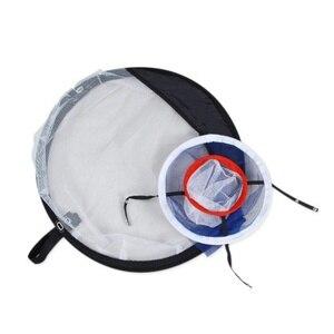 Image 5 - Pitching Golf Lascar Lascar Net Prática de Golfe Indoor Ao Ar Livre quente Gaiolas Prática Esteiras Fácil Net Golf Training Aids