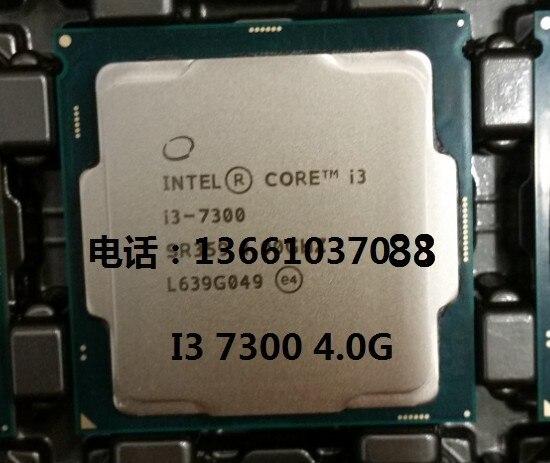 Новый оригинальный Intel i3 7300 однокристальный двухъядерный четыре потока 4.0 ГГц ПРОЦЕССОР LGA1151 официальная версия