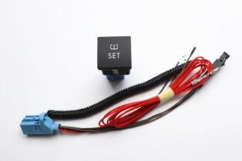 TPMS кнопка мониторинга давления в шинах, кнопка + жгут проводов для Golf MK6 JETTA 5 6 MK5 56D927121 56D 927 121