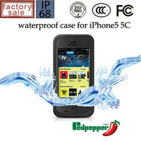 Original Redpepper Waterproof Case Diving Underwater Watertight Cover For IPhone 5C Tough Hybrid Armor Cases Wholesale