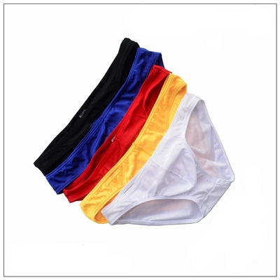 2017 mens fashion low-waist sexy bikini briefs Jitu tight high elastic gay underwear bul ...