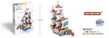 Pirate Ship Plastic Building Block