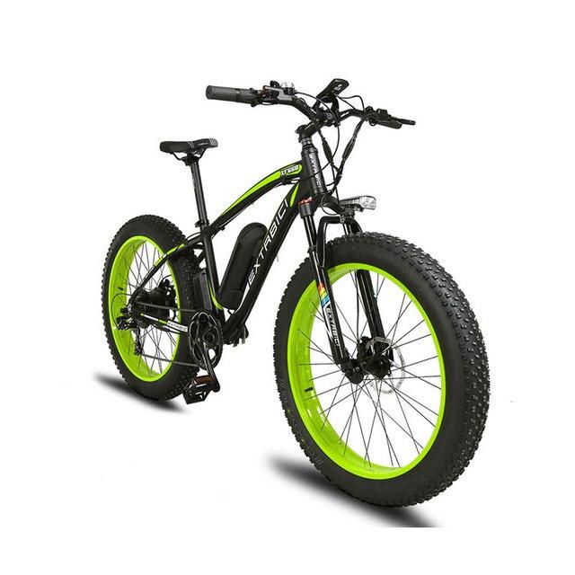 Cyrusher XF660 Fat Tire Электрический велосипед 1000 Вт двигателя 48V-16ah Li-Батарея hybird Электрический велосипед