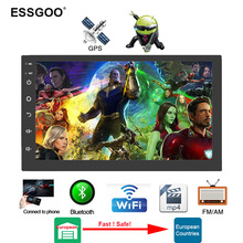 Android 8.1 2 Din Car Radio Multimedia Video Player Universal Autoradio Stereo Gps Map For Nissan Wei Tager Tuv Cheverolet Etc.